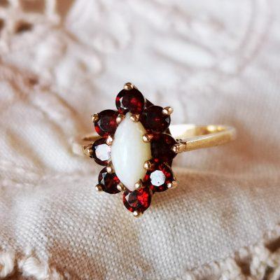טבעת עתיקה ויקטוריאנית