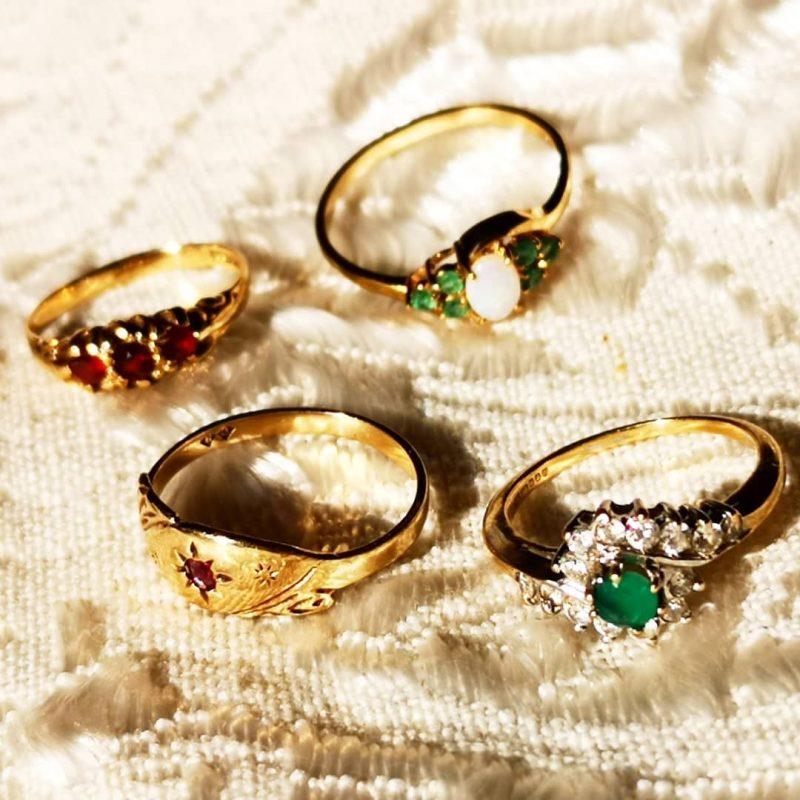 טבעות זהב עתיקות